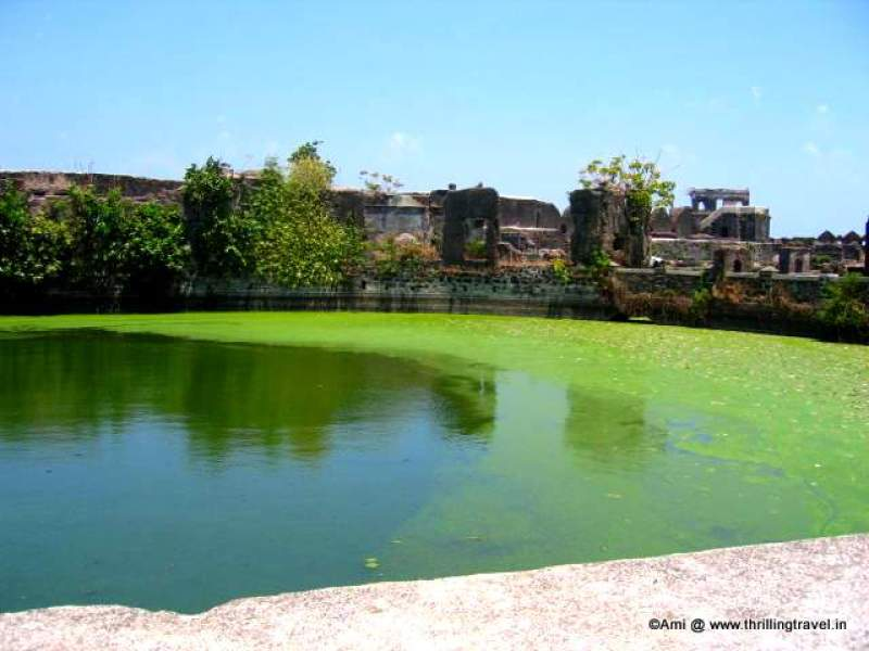 Fresh water tank within the fort