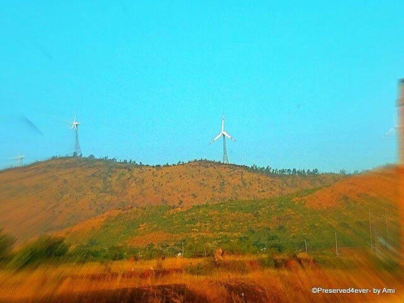 Windmills at Chitradurga