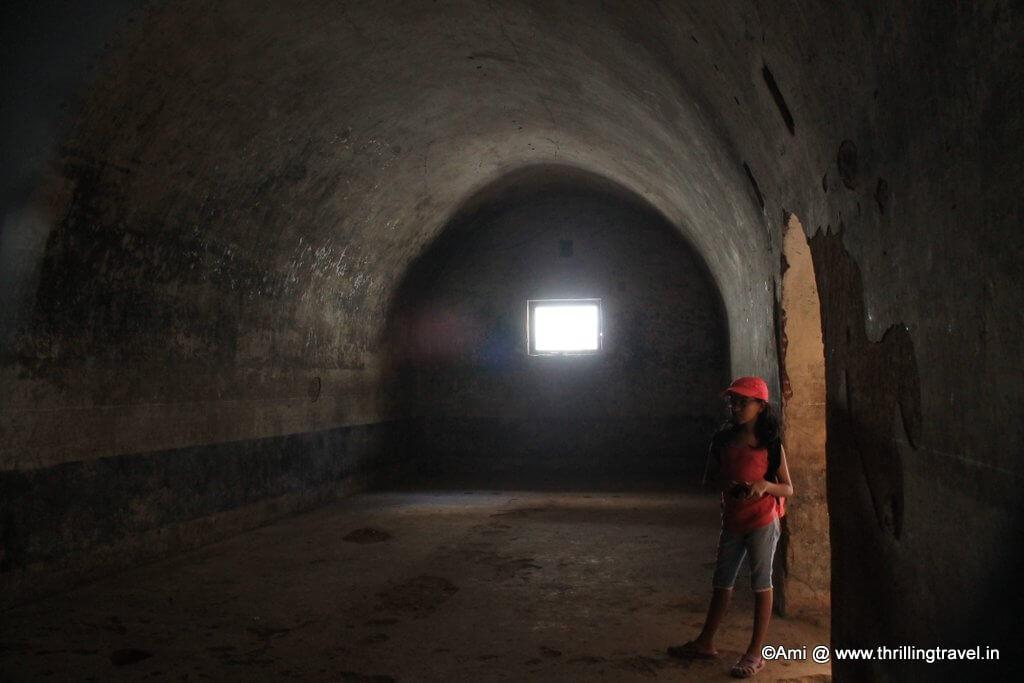 Inside the armory of Tipu Sultan, Bengaluru