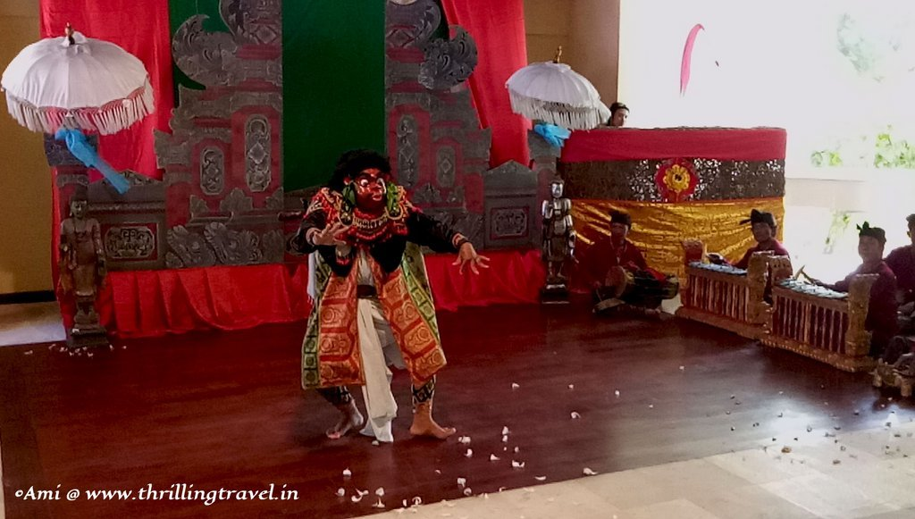 Barong Dance - one of the dances of the Balinese Culture