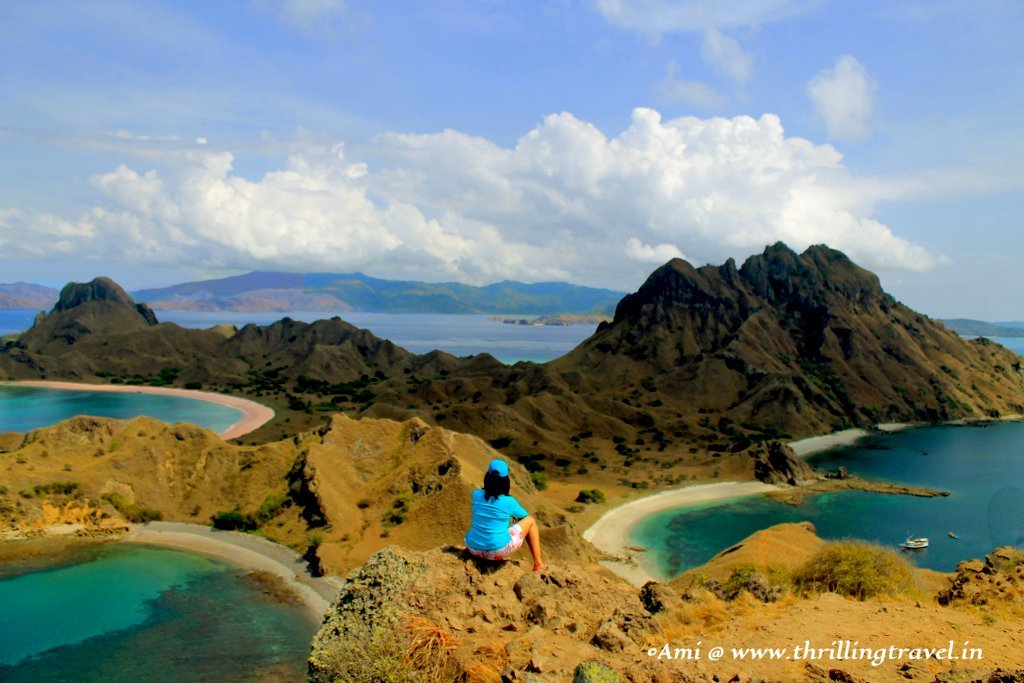 Tri-Colored beaches of Padar Island, Indonesia