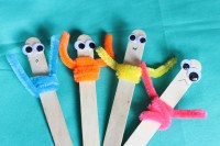 Pipe Cleaner Craft: Popsicle Pals | Thriving Home