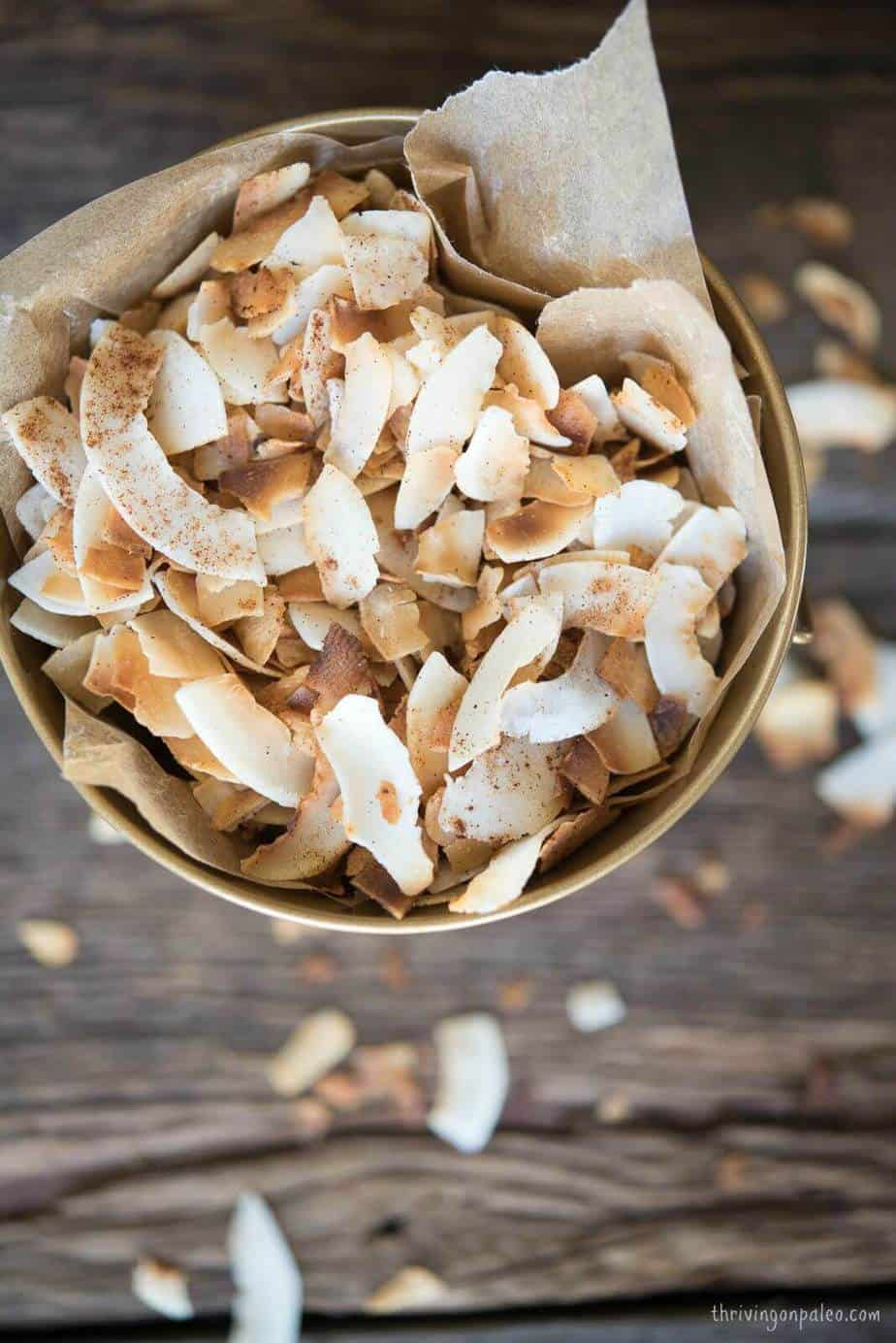 Toasted Coconut Chips with customizable spices!