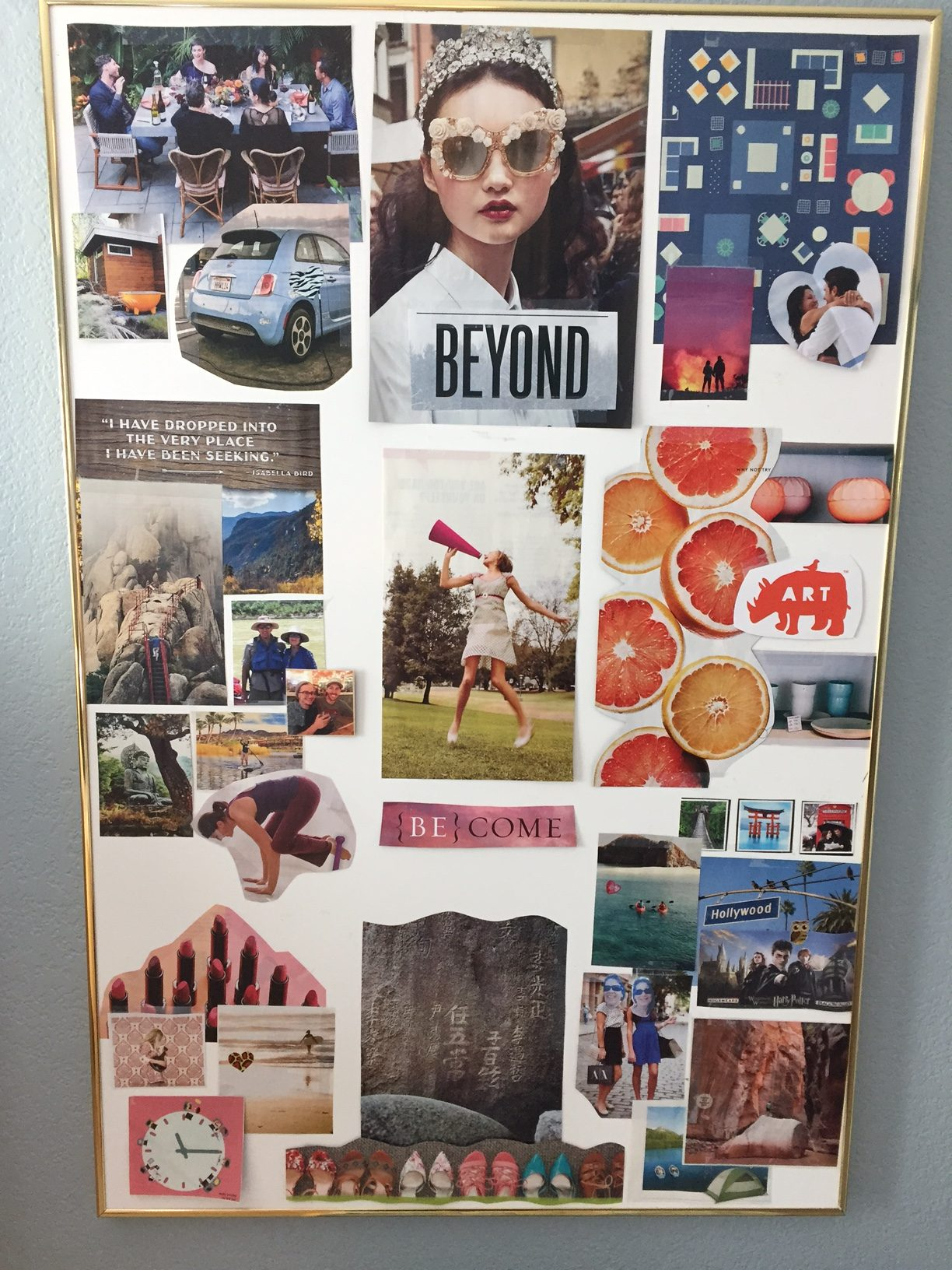 Feng Shui Bagua Vision Board What Is A Vision Board And How Is It Different Than