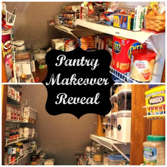 Pantry Shelves Starter Kit: My Pantry Makeover Reveal