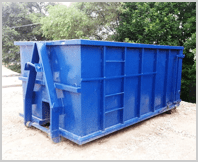 16 cubic yard dumpster available for rent