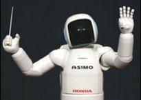 Honda ASIMO robot conductor