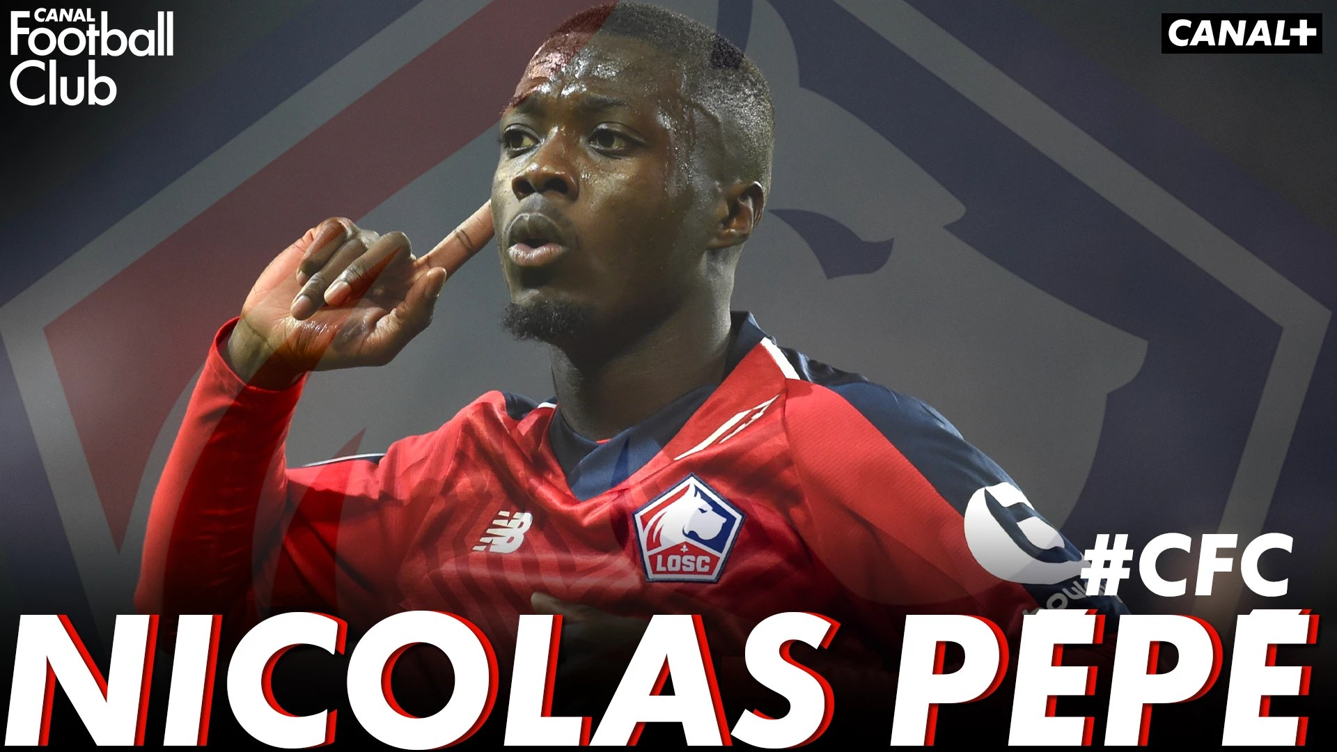 Nicolas Pepe Losc Invite Du Canal Football Club Avant