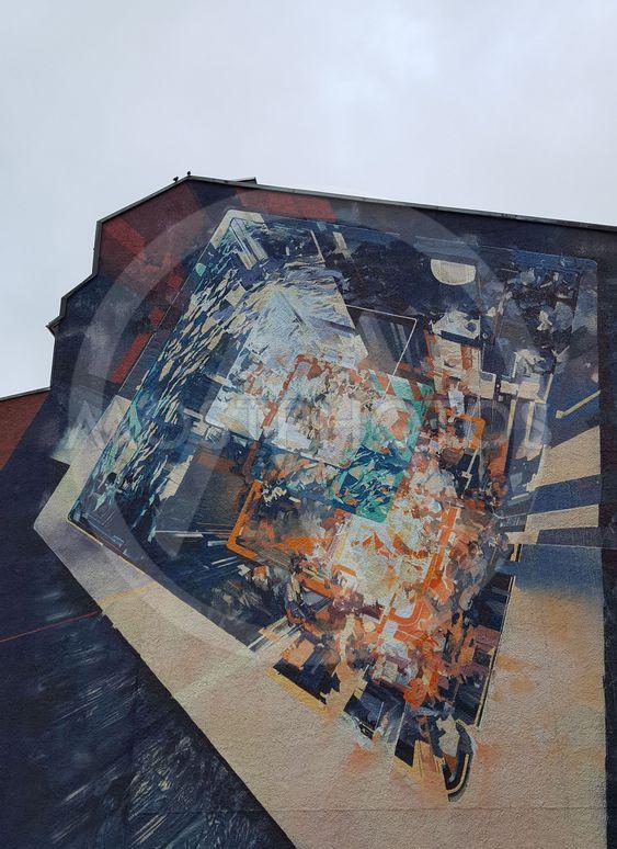 Graffiti av Robert Proch\