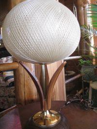 Vintage Modern Danish(?) Lamp Wood Teak Table Lamp Mid ...