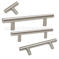 Modern Kitchen Cabinet Handles Stainless Steel Door Knobs ...
