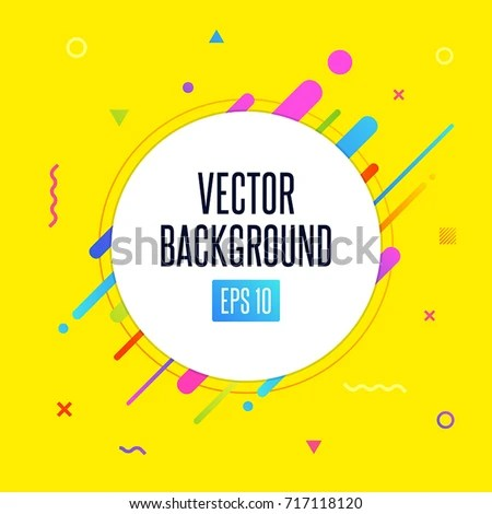 Abstract Vector Background White Circle Text Stock Vector HD - cool text message art