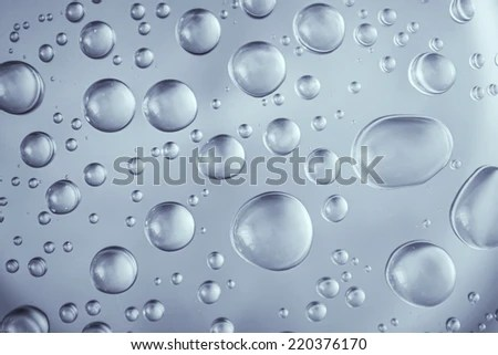 Water Droplets Background Stock Photo (Royalty Free) 220376170 - water droplets background
