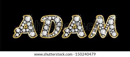 T Alphabet Wallpaper Hd Boy Male Name Adam Made Shiny Stock Illustration 150240479