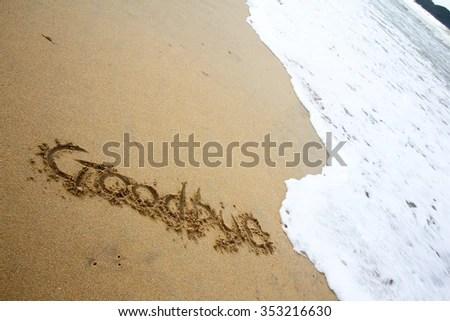 goodbye note lovinglyy - goodbye note