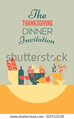Dinner Invitation Stock Images, Royalty-Free Images \ Vectors - dinner invitation template