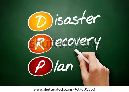 Hand Drawn DRP Disaster Recovery Plan Stock Photo  Image (Royalty - recovery plan
