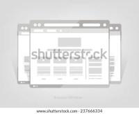 Facebook Web Page Browser Concept Social Stock Vector ...