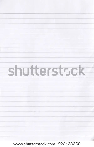 Notebook Lined Paper Background Stock Photo (Safe to Use) 596433350 - line paper background