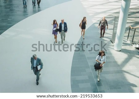 Milan Italy September 13 People Visit Stock Photo (Royalty Free - point of reference