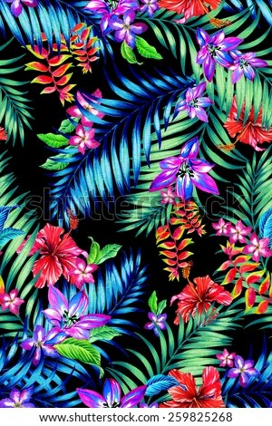 Neon Animal Print Wallpaper Neon Bright Feather Print Seamless Background Stock Vector