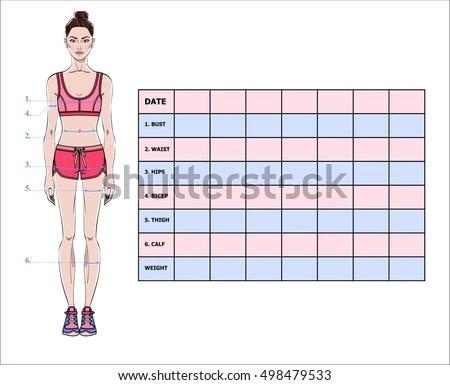 body weight measurement chart - Bire1andwap - weight by measurements