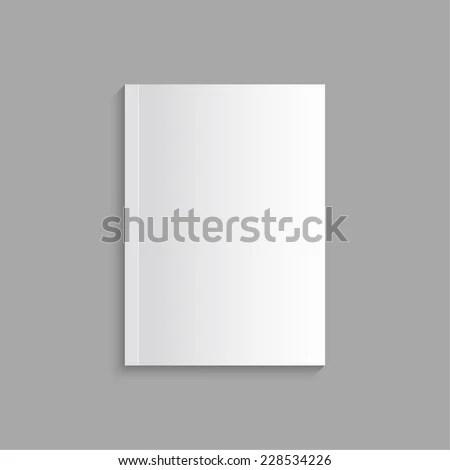 Blank Empty Magazine Book Booklet Brochure Stock Photo (Photo