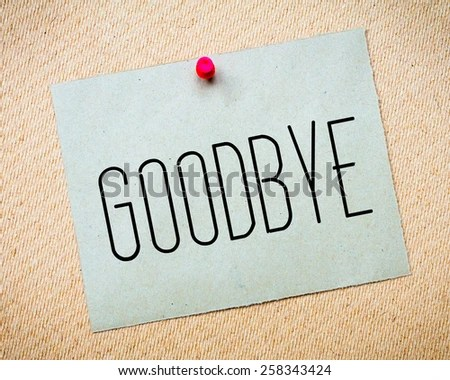 7+ Goodbye Letter After Resignation Day Care Receipts Goodbye - goodbye note