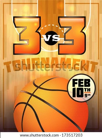 Basketball Tournament Stock Images, Royalty-Free Images \ Vectors - basketball flyer example