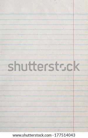 Vintage Lined Paper Notebook Paper Texture Stock Photo (Download Now - notebook paper download