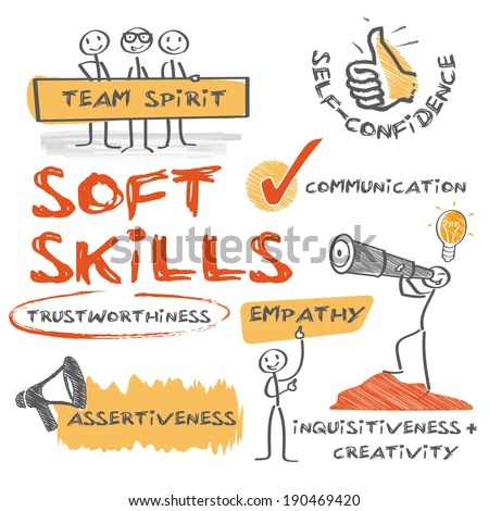 Soft Skills Complement Hard Skills Which Stock Vector (2018 - what are soft skills