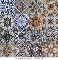 Ceramic Tile Texture Design Wall Bathroom Stock Photo ...