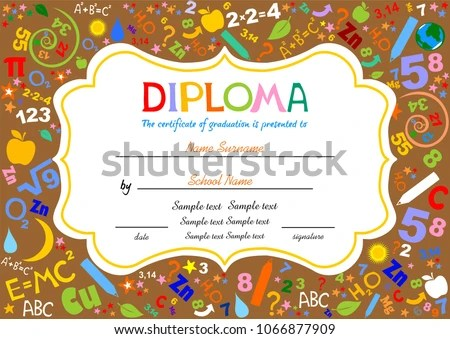 Sample Certificates For Kids nfcnbarroom