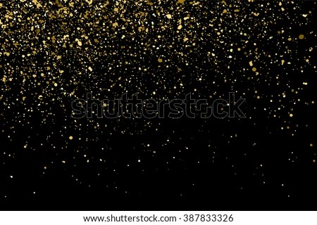 Mardi Gras Wallpaper For Iphone Gold Glitter Texture On Black Background Stock