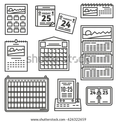 types of calendars - Selol-ink