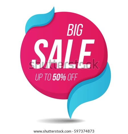 Big Sale Label Price Tag Banner Stock Vector 597374873 - Shutterstock - sale tag template