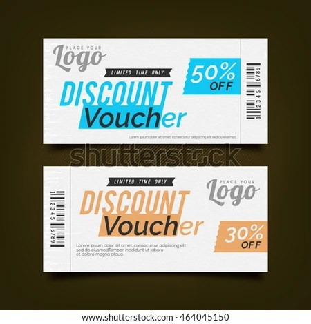 Discount coupon template illustrator  Coupon codes for light in the