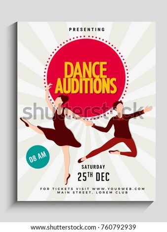 audition flyer template - Yelommyphonecompany - auditions flyer template