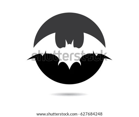 Bat Logo Template Stock Vector 620365892 - Shutterstock - bat template
