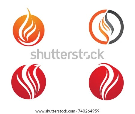 Fire Flame Logo Template Stock Photo (Photo, Vector, Illustration - flame logo
