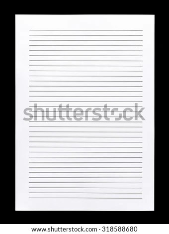 Vector Printing Paper Note Vintage Paper Stock Vector 724999108 - printing on lined paper