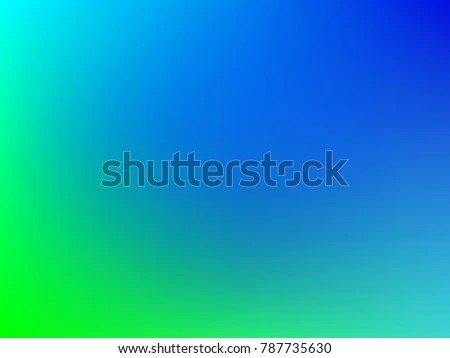 Blue Green Gradient Color Background Foil Stock Vector 787735630