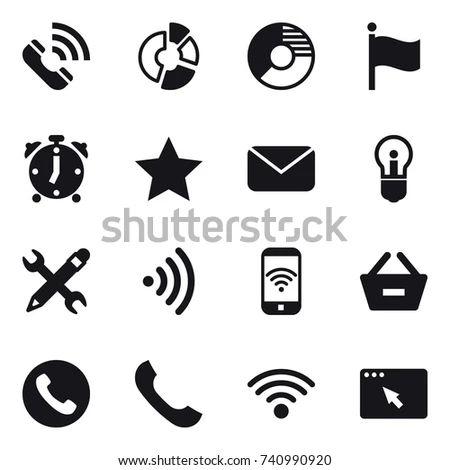 alarm diagram icons
