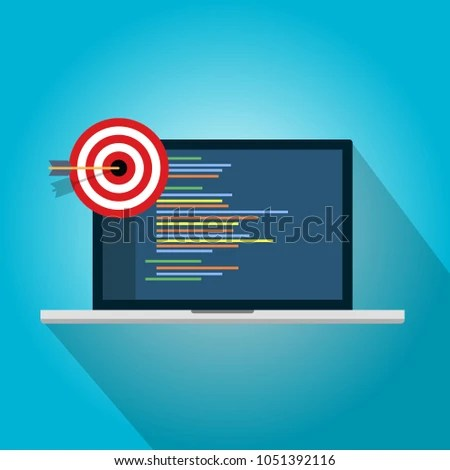Target Quality Control Product Safety Quality Stock Vector