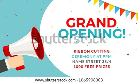 free grand opening flyer template - Romeolandinez - grand opening flyer template