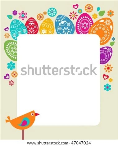 Easter Card Template Happy Easter Card Easter Cards Easter Card - sample easter postcard template