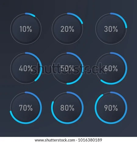 Infographic Pie Chart Templates Can Be Stock Vector 1016380189 - pie chart templates