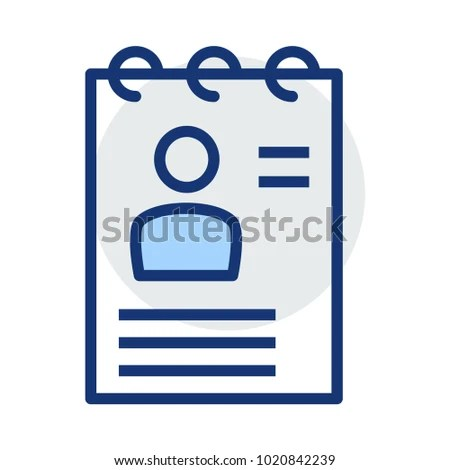 CV File Documents Stock Vector HD (Royalty Free) 1020842239