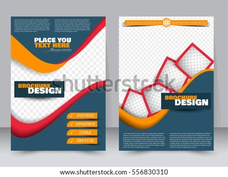 Abstract Flyer Design Background Brochure Template Stock Vector HD - free flayer design
