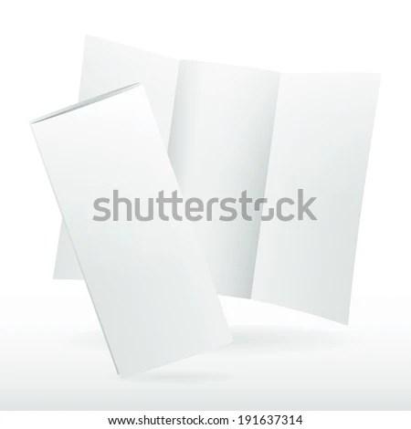 Blank Tri Fold Brochure Template – Free Blank Tri Fold Brochure Templates